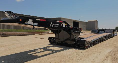 A110HDG-SF-PAV trailer